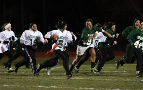West Deptford seniors triumph in traditional PowderPuff game
