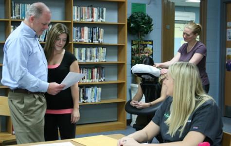 Teachers get relief from stress