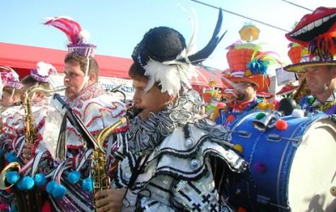 Fox shines in Mummer's Parade