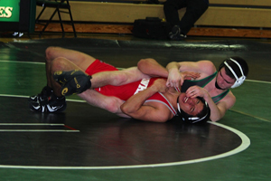 Tyler Kaminski earns 100th win in wrestling